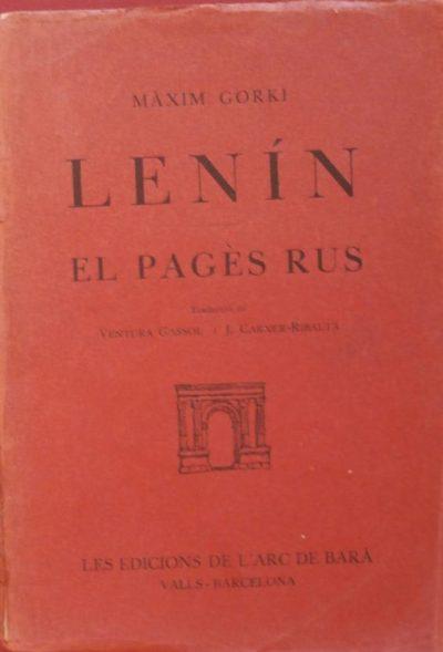 Lenín ; El pagès rus