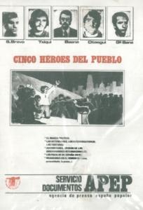 Cinco héroes del pueblo