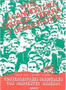 Conversaciones sindicales con dirigentes obreros