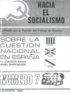 Sobre la cuestión nacional en España
