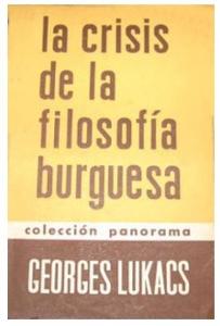 La crisis de la filosofía burguesa
