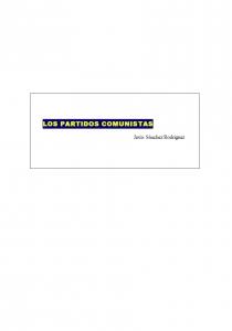 Los partidos comunistas