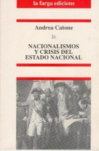 Nacionalismos y crisis del estado nacional
