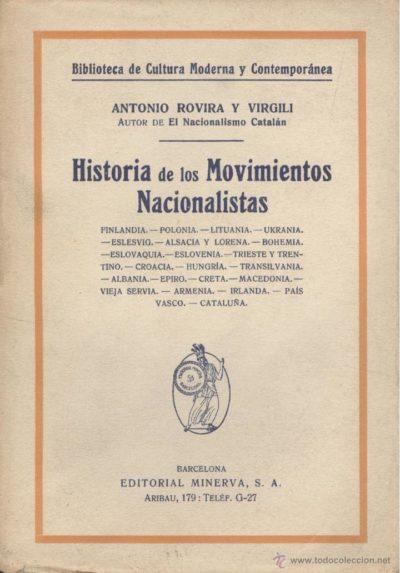 Historia de los movimientos nacionalistas
