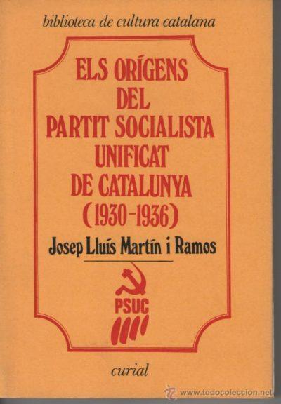 Els orígens del Partit Socialista Unificat de Catalunya, (1930-1936)