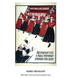 Dones i revolució : 1917-2017. Cent anys de la revolució russa