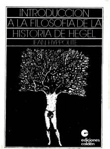 Introducción a la filosofía de la historia de Hegel