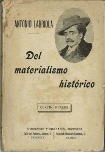 Del materialismo histórico
