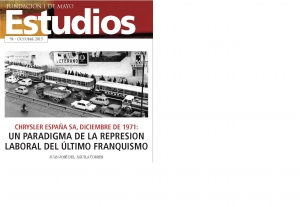 Chrysler España SA, diciembre de 1971: un paradigma de la represión laboral del último franquismo
