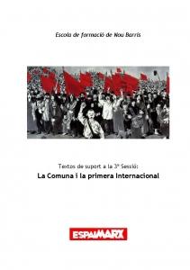La Comuna i la primera Internacional