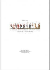 La multitud en la historiografia de la revolució francesa : encontres i desencontres