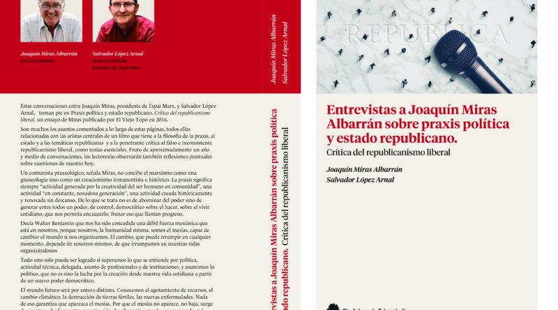 Libro conversaciones con Joaquín